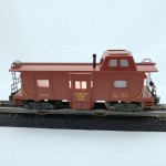 American Flyer No. 979 Tuscan Painted American Flyer Lines Bay Window Equipped Illuminated Operating Caboose