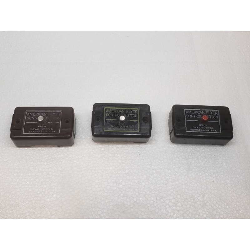 American Flyer Control Boxes for No. 705, 706 or 26752