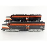 American Flyer No. 494 495 New Haven Diesel PA Pair - Runs Great