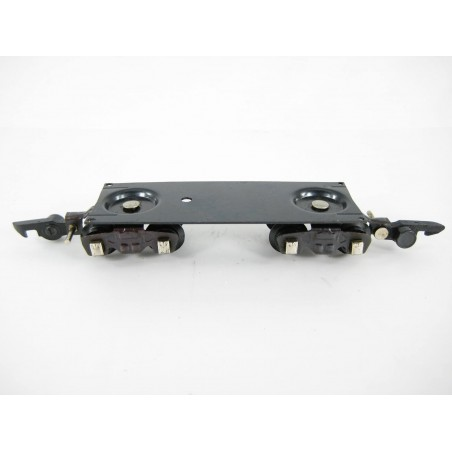 American Flyer Caboose Frame with Trucks - Wheel & Axle Assemblies - Link Couplers