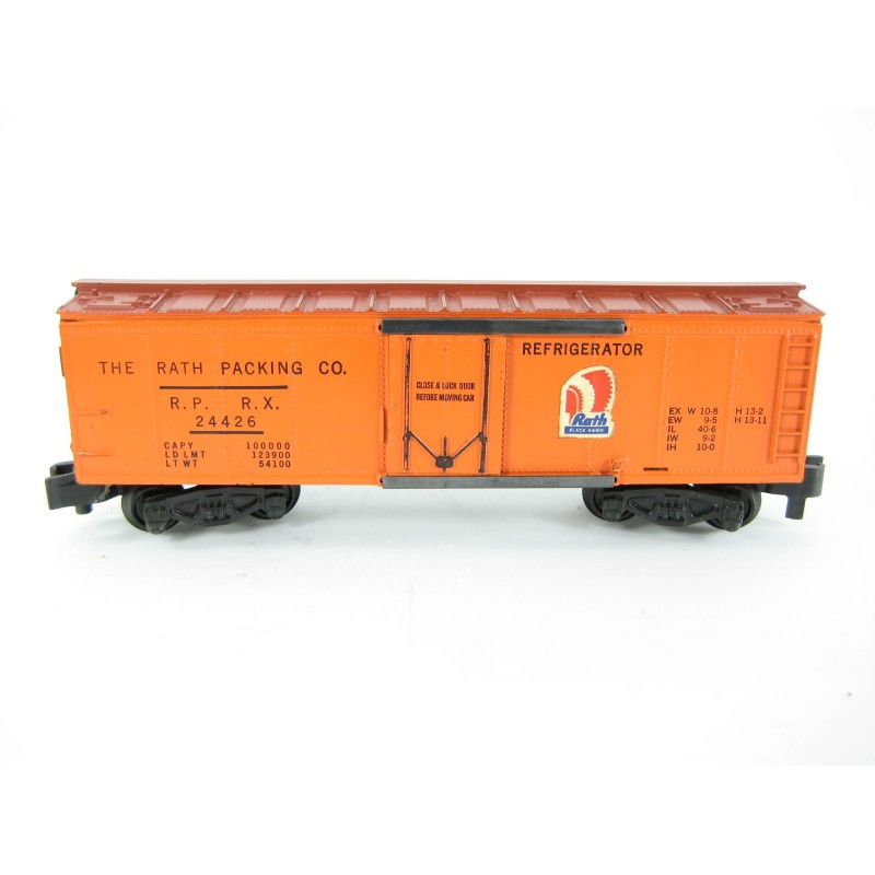 American Flyer No. 24426 Rath Packing Co. Boxcar