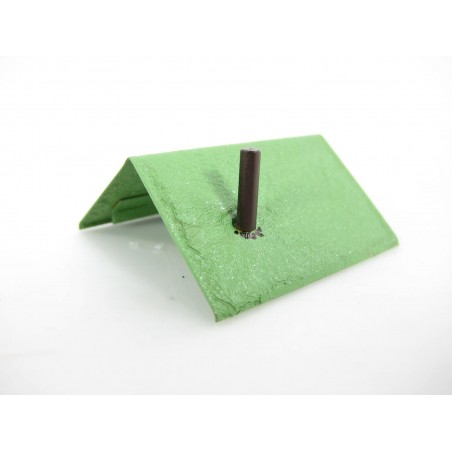 Green Painted Metal Shed Roof for American Flyer Accessories No. 591. 592, 592A