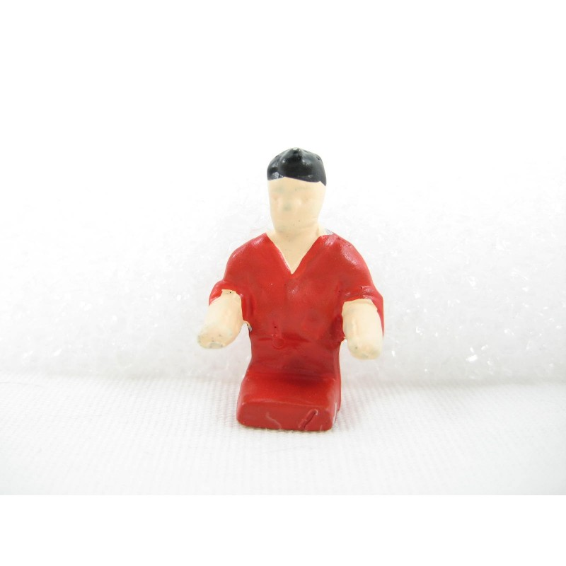 Red Shirt Counter Man for Mini-Craft Buildings American Flyer No. 270, 271, 272