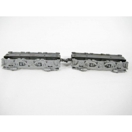 Two Original American Flyer No. XA12A356 Alco Truck Side & Bottom Plate Assembly