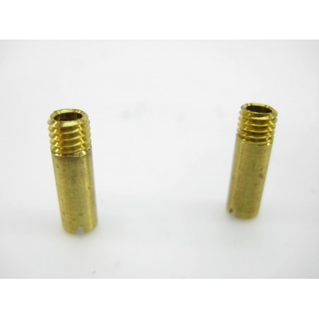 Two Brass Smoke Stacks For Steam Locmotives