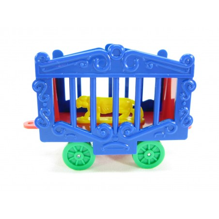 American Flyer Reproduction Circus Cage with Panther