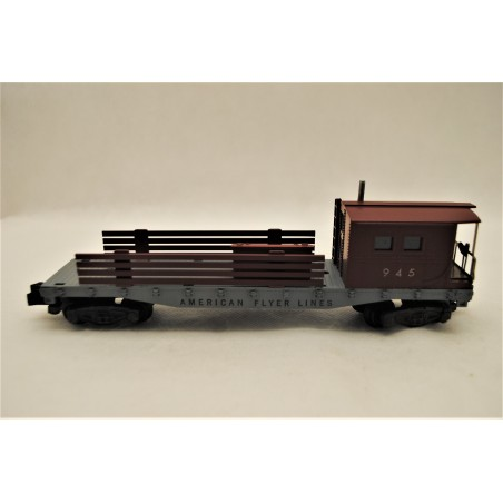 American Flyer Lines No. 945 Work and Boom Car