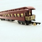 American Flyer No. 654 Unpainted Tuscan Heavyweight Pullman Observation Car