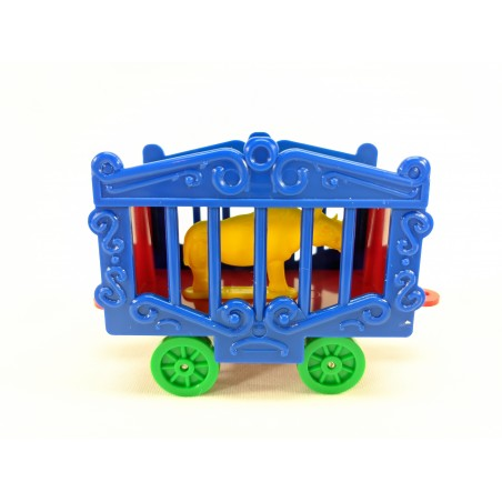 American Flyer Reproduction Circus Cage with Rhino