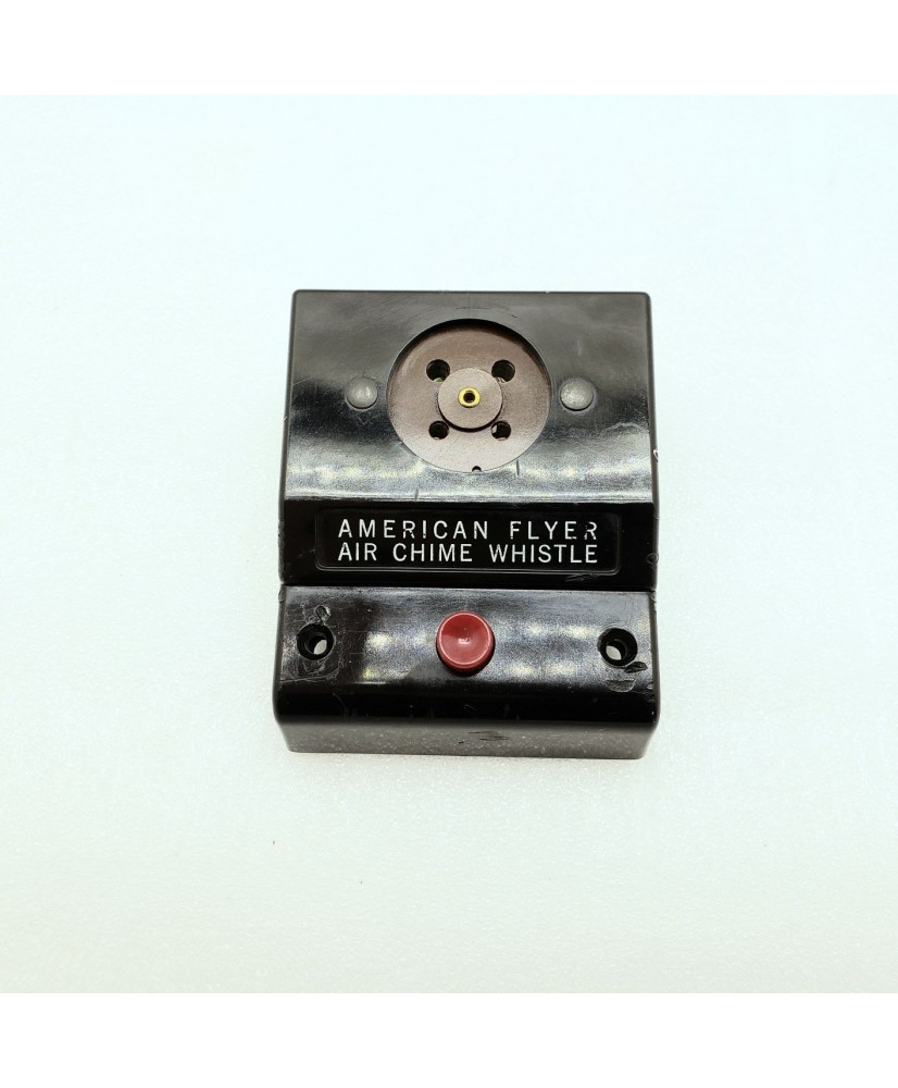 American Flyer No. 708 Operating Air Chime Whistle Remote Contol Box Wired Black