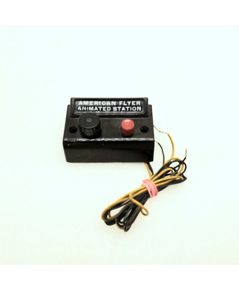 American Flyer Original Animated Station Operator-Controlled Box Wired